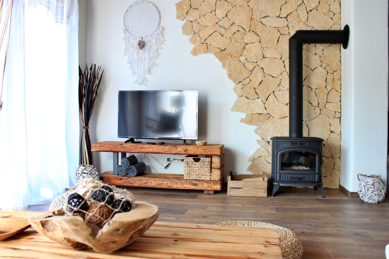 Interiér chata 1 obývačka