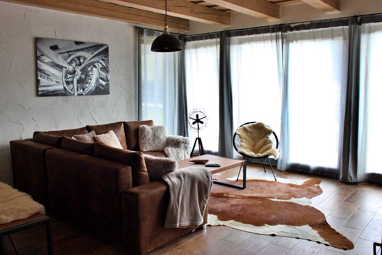 Interiér chata 2, obývačka